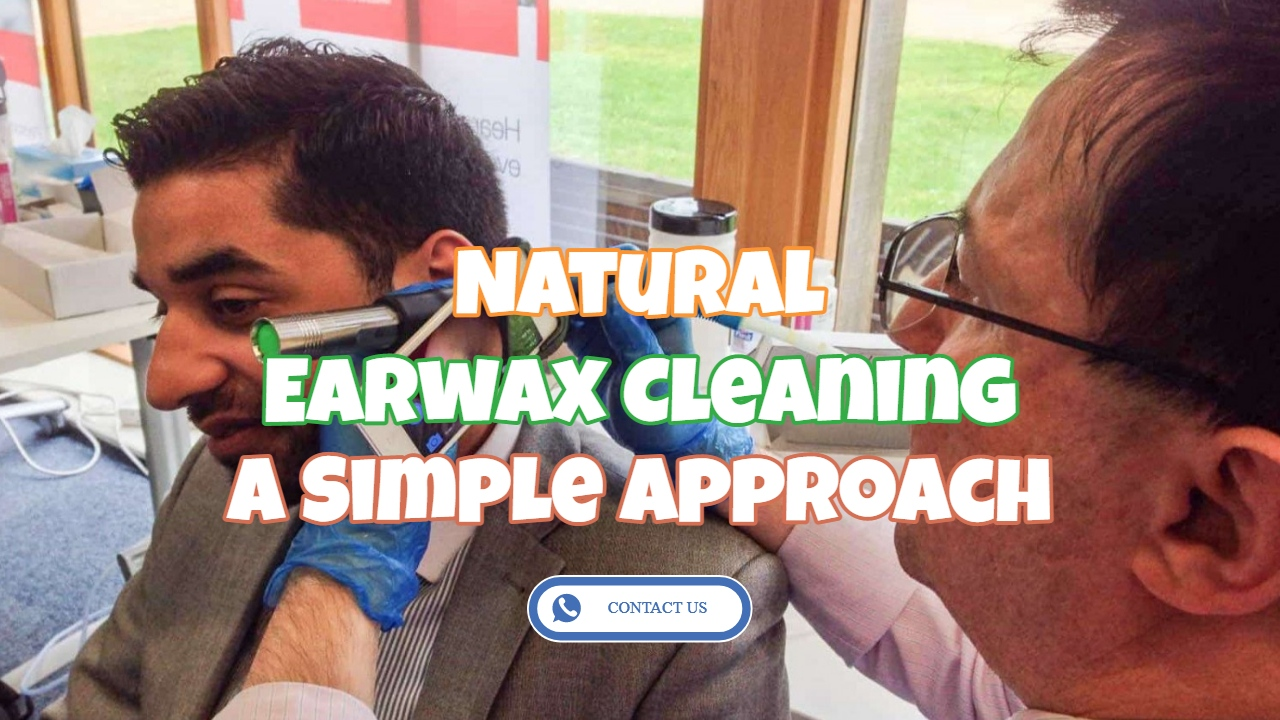 Natural Earwax Cleaning