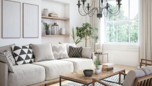 Colour chouces in painting a home